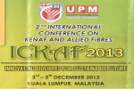 International Conference on Kenaf and Allied Fibres (ICKAF 2013)